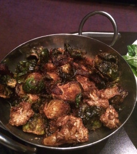 """Crispy"" brussels sprouts"