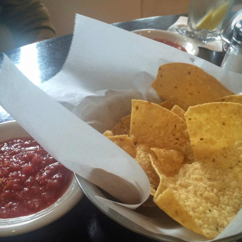 Tortilla chips come unsalted